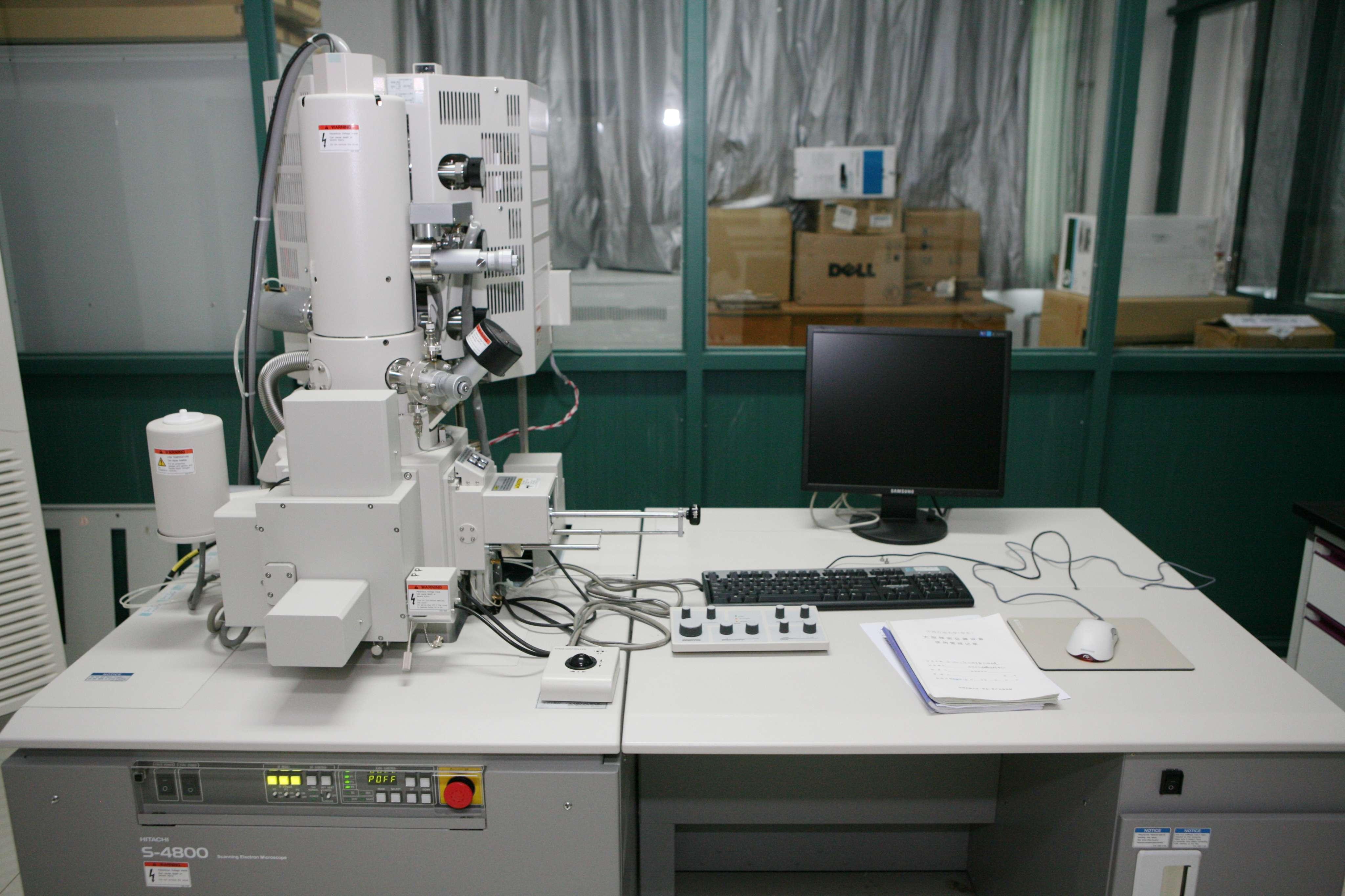 日立S4800型冷场发射扫描电镜