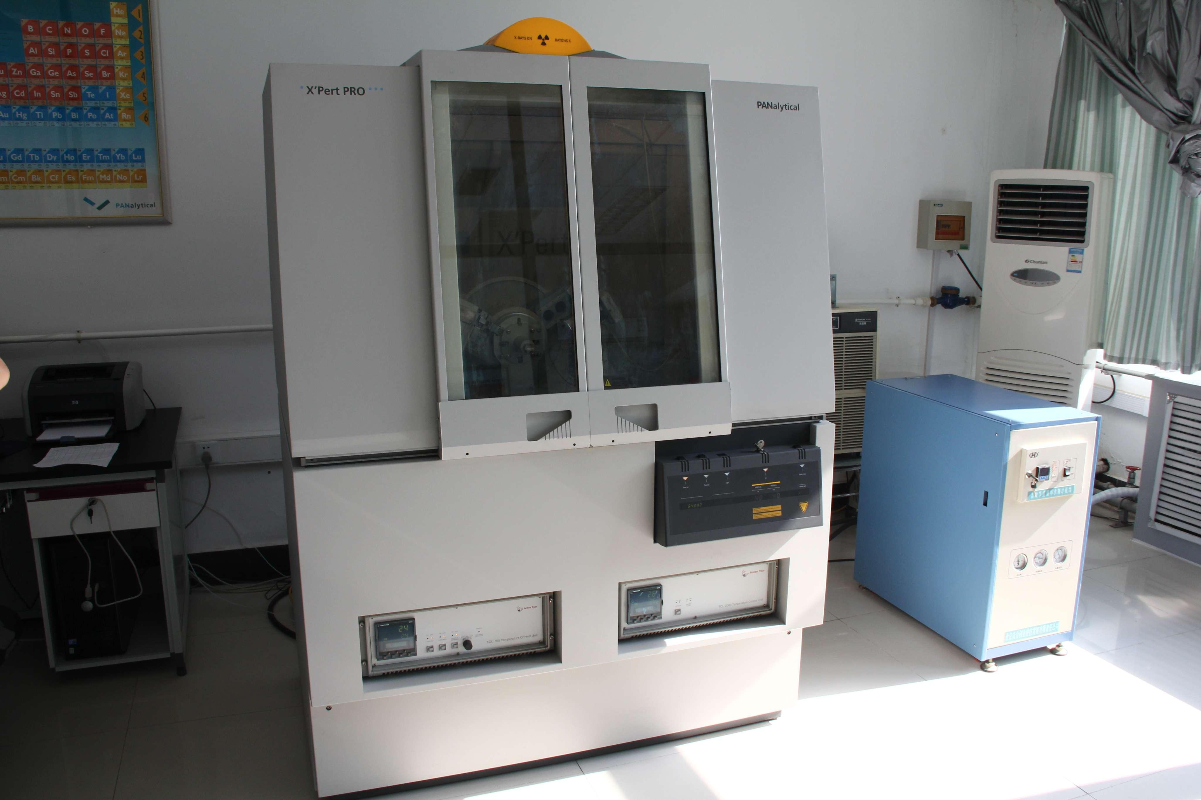 帕纳科X'Pert Pro MPD型多晶粉末X-射线衍射仪
